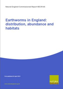 Natural England Report