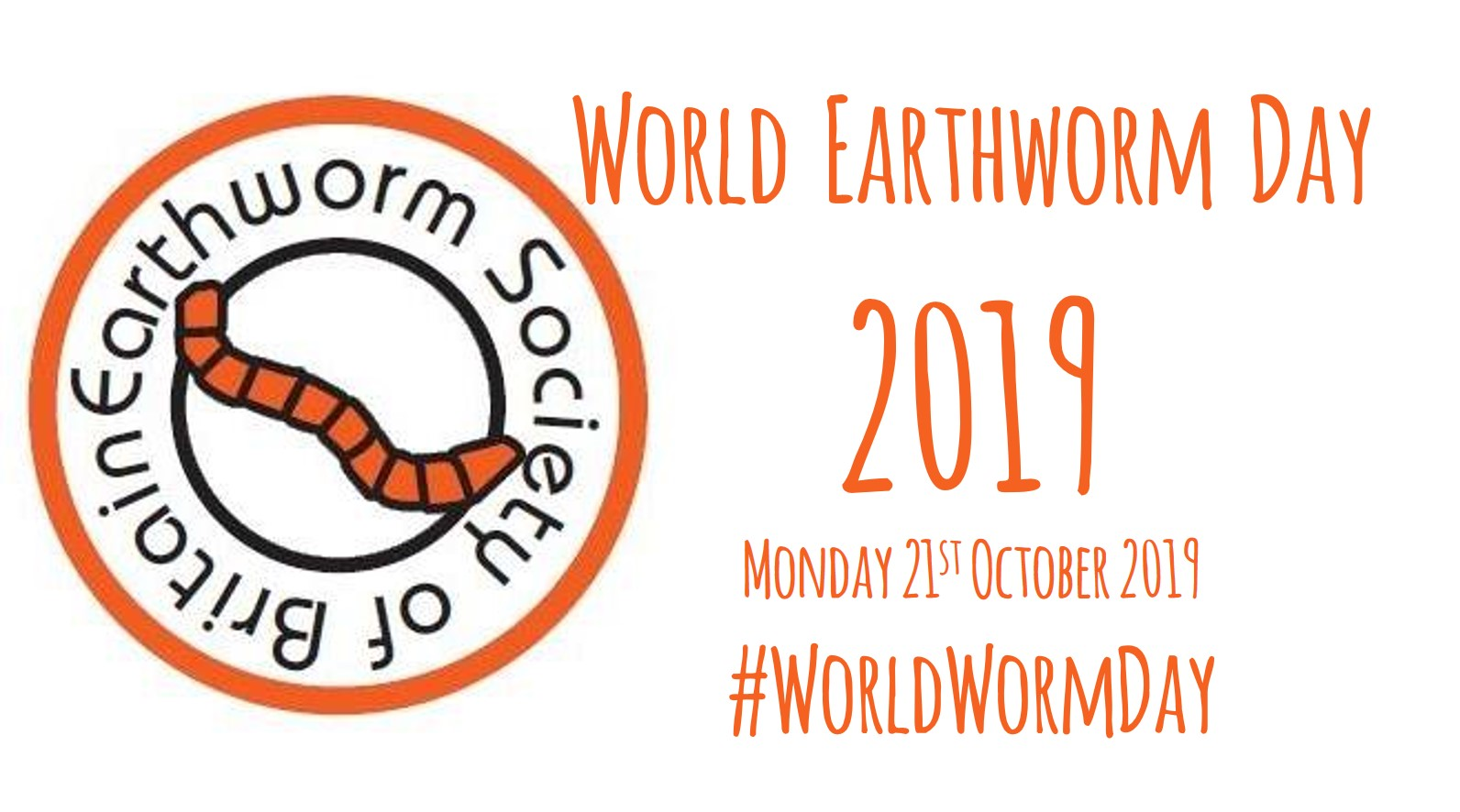 World Earthworm Day 2019 banner image