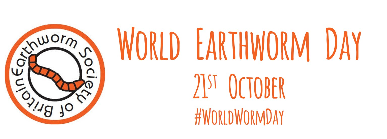 world Earthworm Day logo